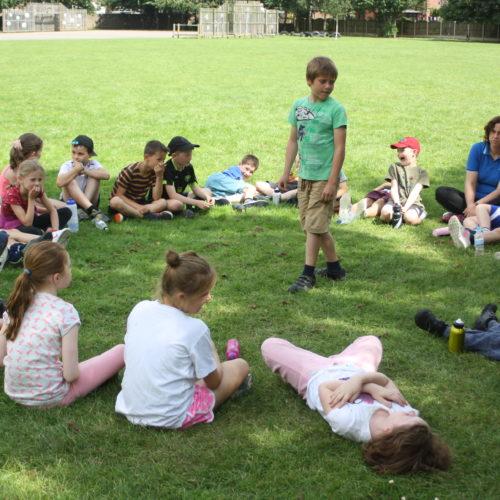 Circle time sensory activities and meditation